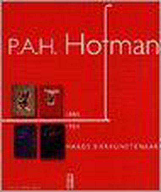 P.a.h. hofman (1885-1965). haags sierkunstenaar