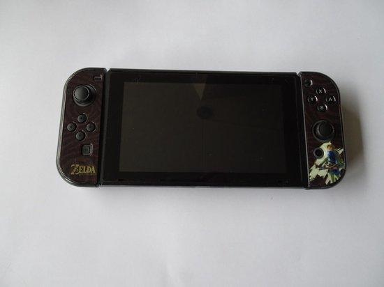 Nintendo Switch Cover Zelda Breath of the Wild inclusief Screen Protector - Merkloos