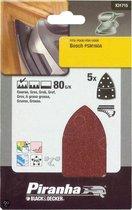 Piranha Schuurstroken Bosch PSM, 80K 5 stuks X31715