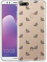 Huawei Y7 2018 Hoesje Bee Good