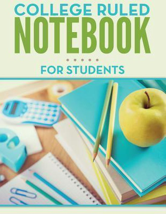 College Ruled Notebook for Students
