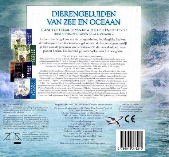 Dierengeluiden van de zee en oceaan - Andrea Pinnington
