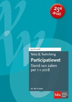 Teksten en toelichting  -  Participatiewet 2018