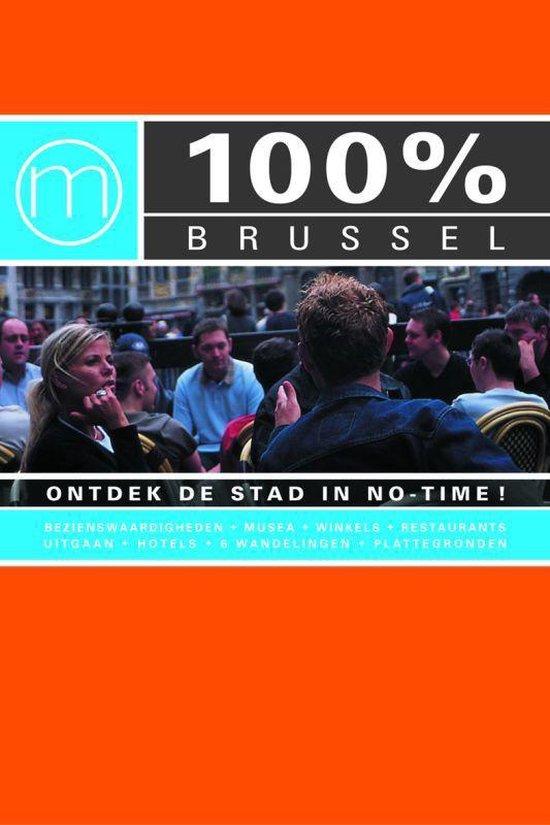 Cover van het boek '100% Brussel' van Taunya Renson-Martin