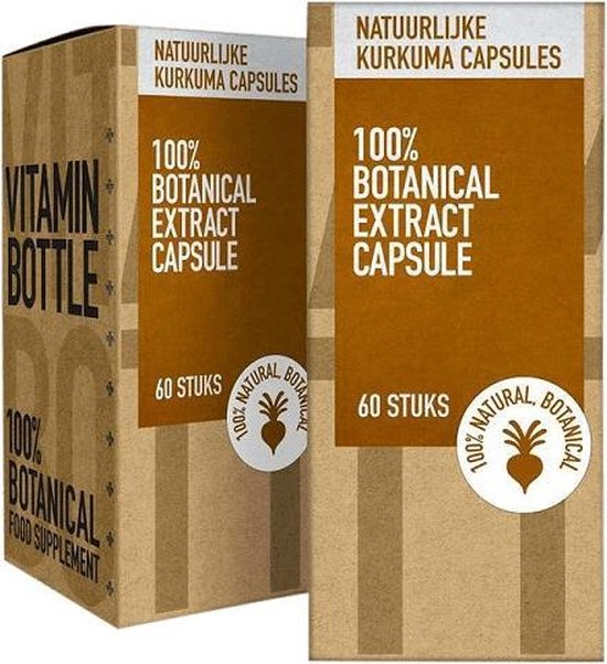 Natuurlijke Kurkuma Capsules - 60 stuks