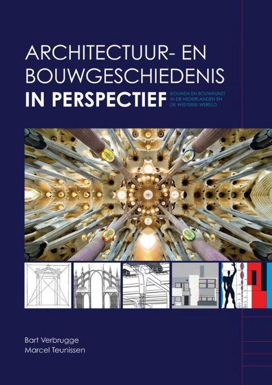 Boek cover Architectuur- en bouwgeschiedenis in perspectief van Verbrugge, Bart (Paperback)
