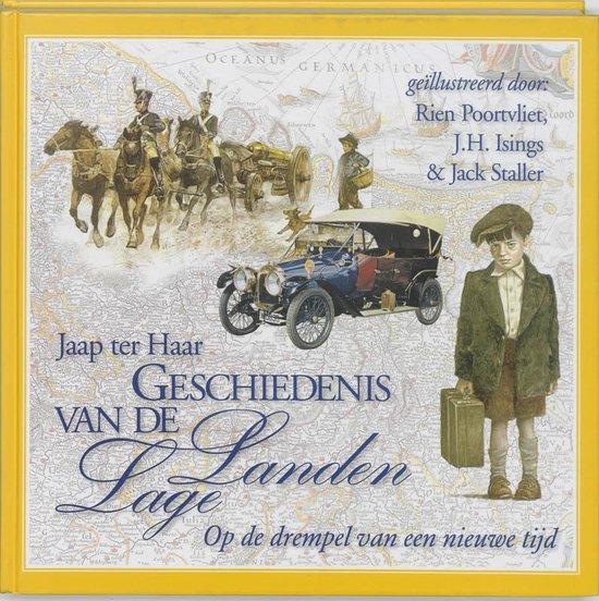 Boek cover Geschiedenis Van De Lage Landen Deel 4 van J. ter Haar (Hardcover)