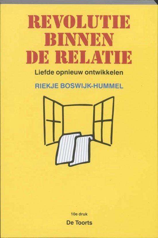 Boek cover Revolutie binnen de relatie van R. Boswijk-Hummel (Paperback)