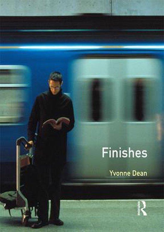 Boek cover Finishes van Alan Everett (Onbekend)