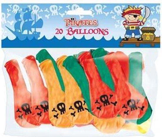 Little Pirates ballon 18 stuks