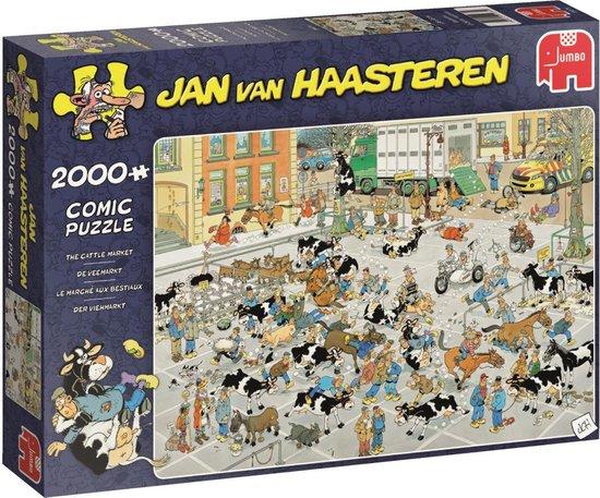 Afbeelding van Jan van Haasteren Veemarkt Puzzel 2000 Stukjes