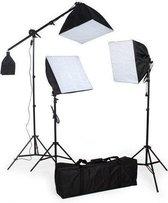 TecTake Studiolampen set - 3x fotolamp fotografie softbox  - 400894