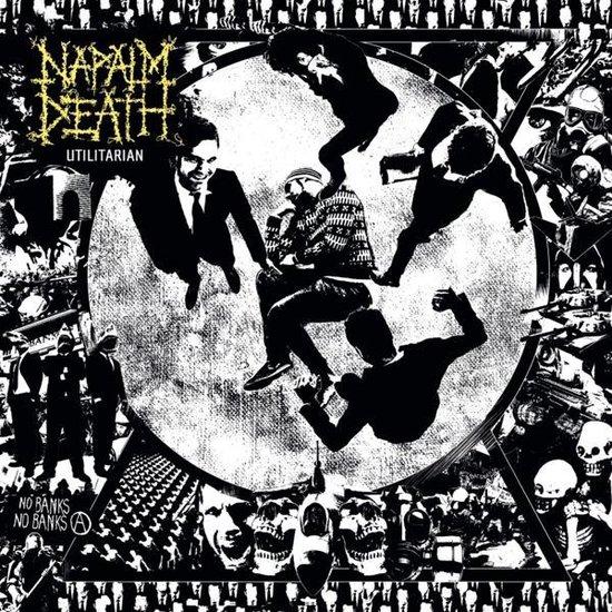 CD cover van Utilitarian van Napalm Death
