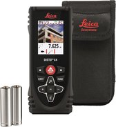 Leica Disto X4 Afstandsmeter met camerafunctie - 150m - Bluetooth - In tas