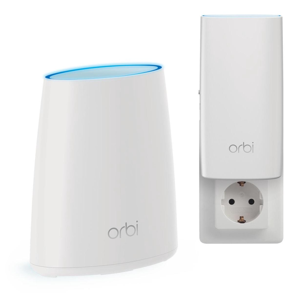 Netgear Orbi RBK30 - Multiroom WiFi Systeem - Router + wall-plug satelliet