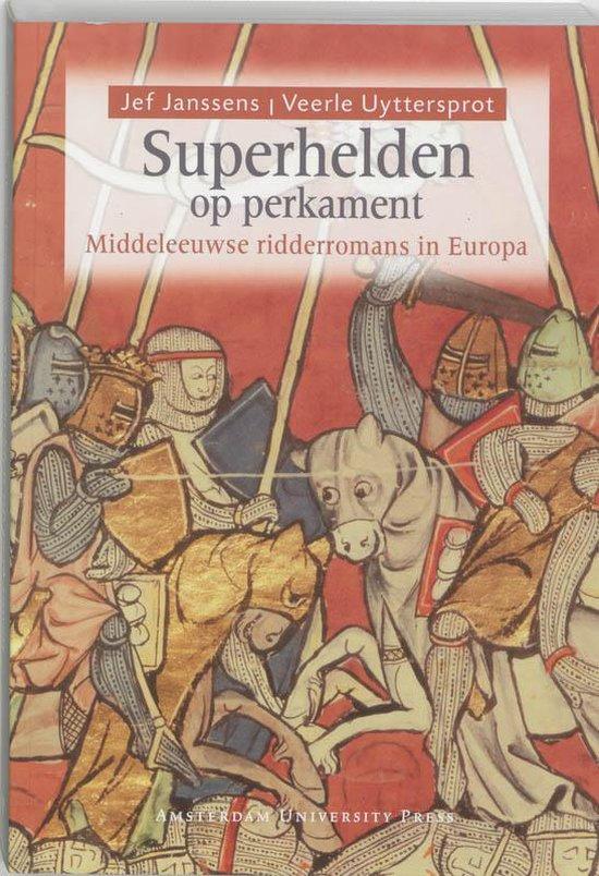 Superhelden op perkament - Jozef Janssens |