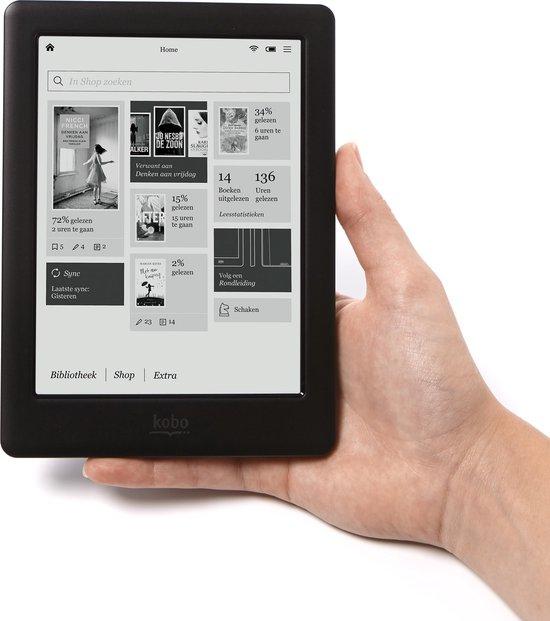 Kobo Touch 2.0 - Zwart - e-reader