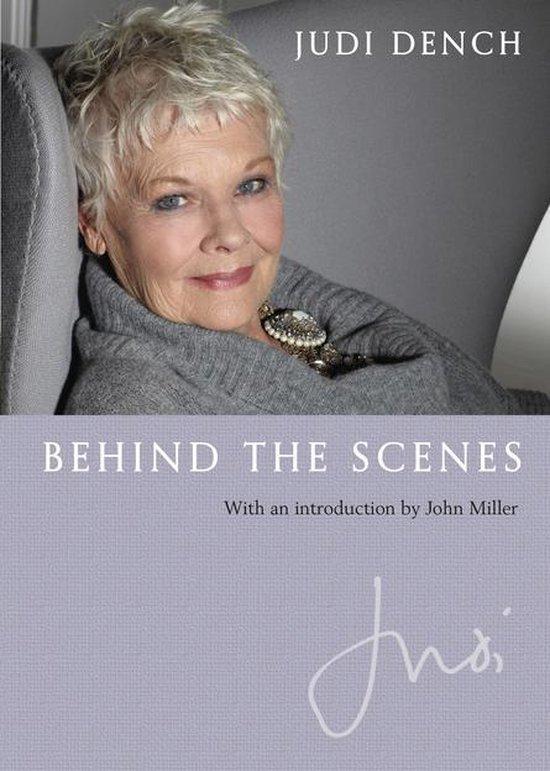 Omslag van Judi: Behind the Scenes