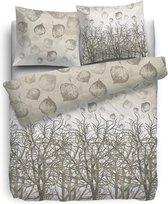 HNL Pure Cotton Fig Dekbedovertrek - Eenpersoons - 135x200 + 80x80 cm - Naturel