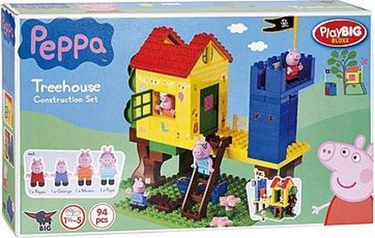 PlayBIG Bloxx Peppa Pig Boomhut - PlayBIG BLOXX
