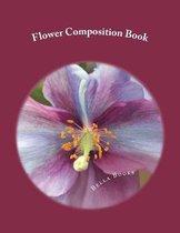 Flower Composition Book