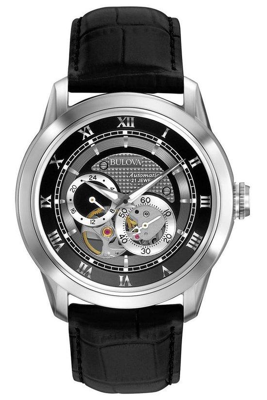 BULOVA - Bulova Men´S Automatic - 96A135 - Horloge - 42 mm - Zilver