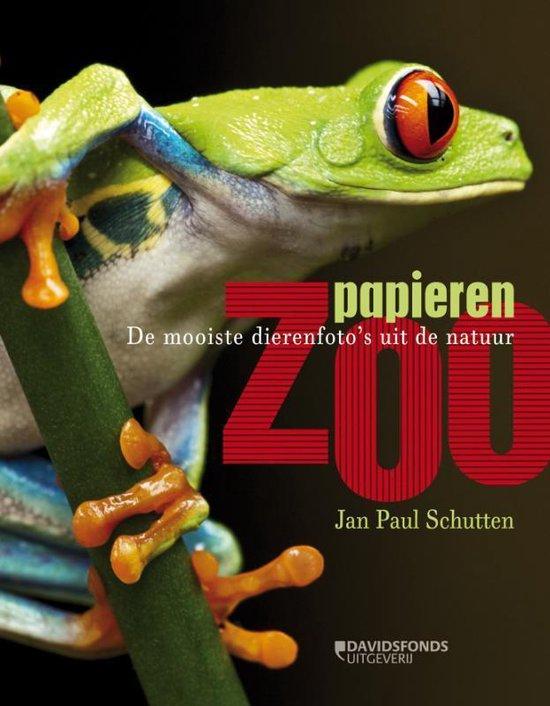 Cover van het boek 'Papieren zoo'