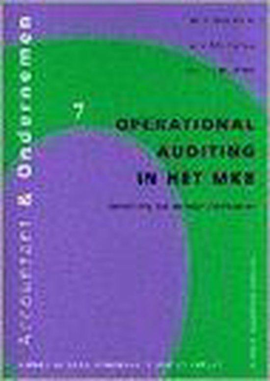 OPERATIONAL AUDITING IN HET MKB SERIE: ACCOUNTANT EN ONDERNEMEN DL7 - none |
