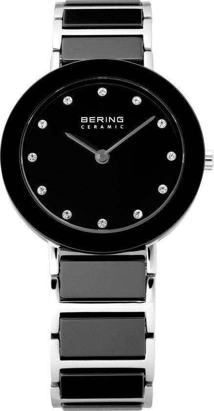 BERING Ceramic 11429-742 - Horloge - Staal | Keramiek - Zwart - Ø 29 mm