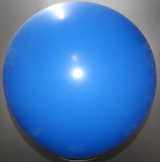 reuze ballon 160 cm 64 inch blauw