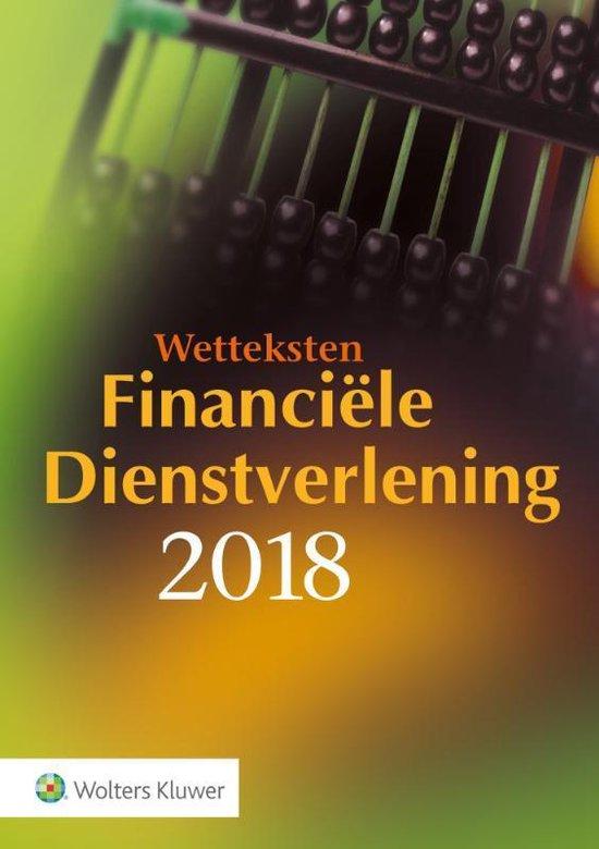 Wetteksten Financiële Dienstverlening 2018 - Jelle van den Berg   Fthsonline.com