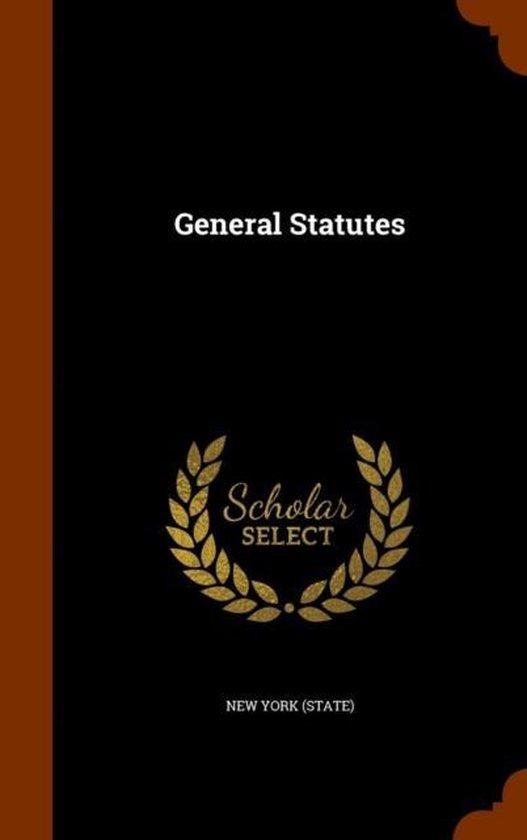 General Statutes