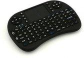 Premium Mini Draadloze Toetsenbord | Keyboard voor o.a. PC – Raspberry PI / Smart Phone / Console / Smart TV | Draadloos toetsenbord | Mouse + Touchpad | Wireless | Zwart