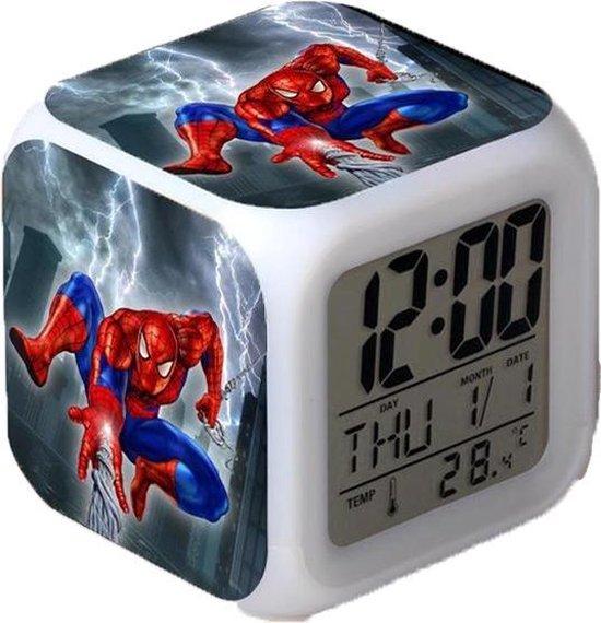 Afbeelding van het spel Spiderman wekker   Marvel
