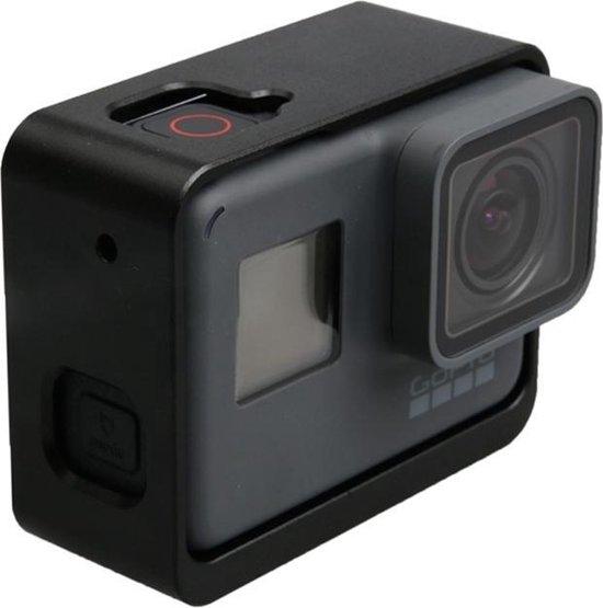 Voor GoPro HERO 5 aluminiumlegering grens Frame Mount beschermings huisvesting hoesje Cover(zwart)