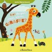 Omslag Bist du ganz allein, kleine Giraffe?