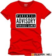 FOR GAMING - T-Shirt PARENTAL ADVISORY - (XL)