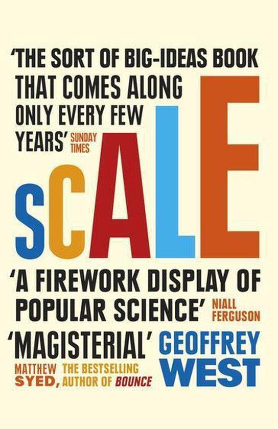 Boek cover Scale van Geoffrey West (Onbekend)