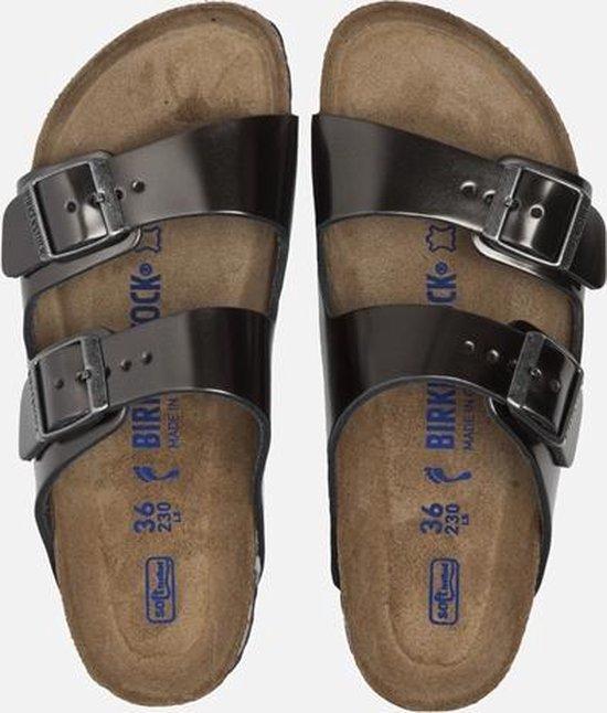 Birkenstock Arizona slippers metallic