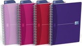 Oxford My Style - Notitieboek - A5 - Gelijnd - 180 pagina's - 90g - softcover - assorti - 1 stuk