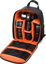 Camera rugzak voor camera en lens - Lovnix Bag107 | 32 Centimeter | Oranje