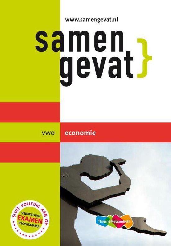 Samengevat - Vwo Economie - J.P.M. Blaas |