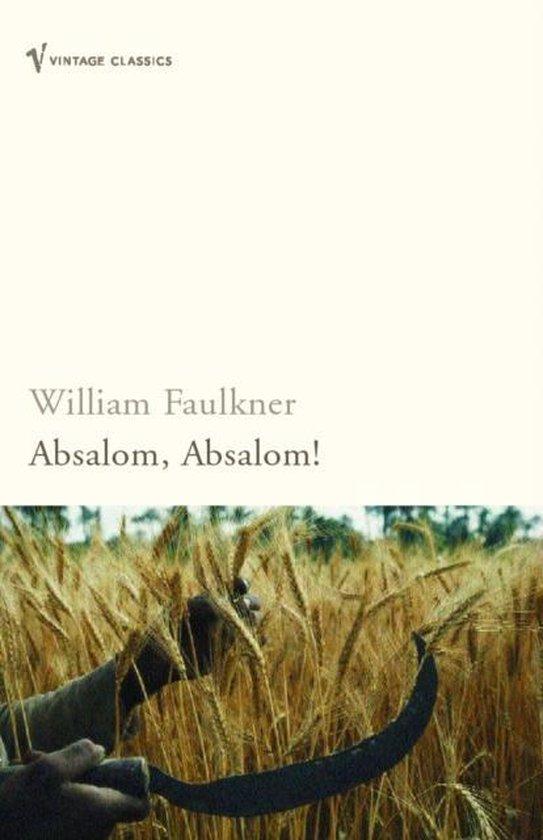 Boek cover Absalom, Absalom! van William Faulkner (Paperback)