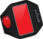 Yurbuds iPhone 5s / 5 Ergosport LED Armband - Zwart / Rood
