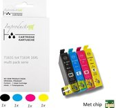 Improducts® Inkt cartridges - Alternatief Epson 16XL 16 XL T16 Multi pack