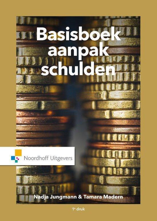 Boek cover Basisboek aanpak schulden van Nadja Jungmann (Paperback)