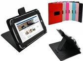 Prestigio Multipad 4 Quantum 10.1 Case, Stevige Tablet Hoes, Betaalbare Cover, Rood, merk i12Cover