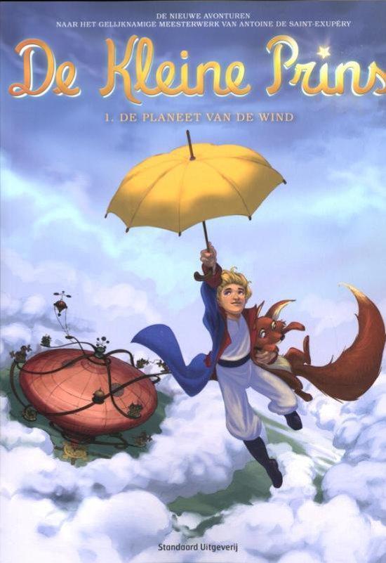 De kleine prins 01 De planeet van de wind - Guillaume Dorison  