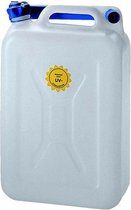jerrycan voor water 20 liter wit