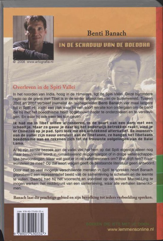 In De Schaduw Van De Boeddha - B. Banach   Fthsonline.com